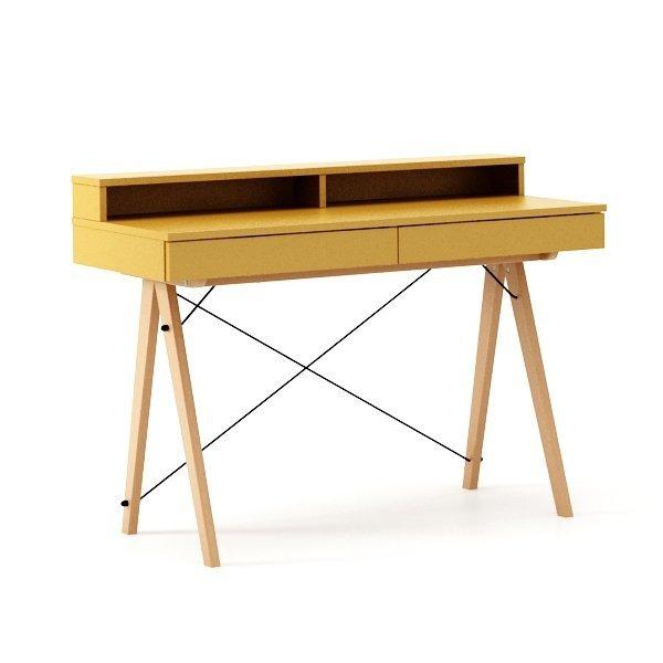 Designerskie biurko Minko Basic + to idealny mebel do domowego biura czy pokoju nastolatka