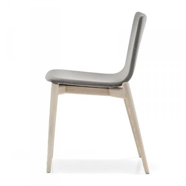 Designerskie krzesło w stylu skandynawskim Malmo 391 Pedrali