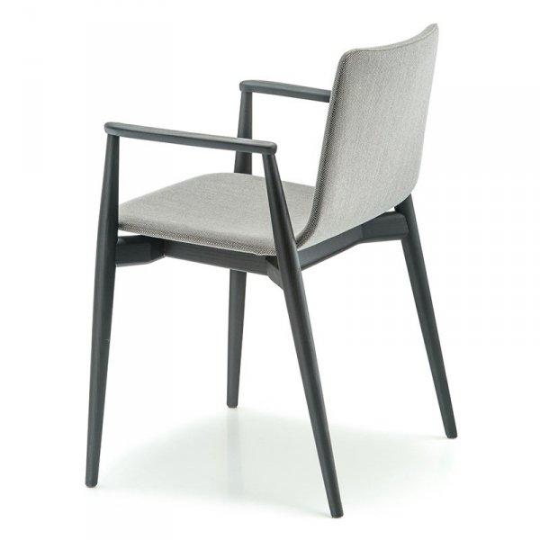 Designerskie krzesła tapicerowane do biura i salonu Malmo