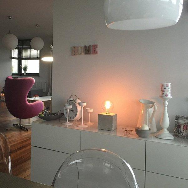 Lampka Edison Cube to piękne oświetlenie do stylowych wnętrz