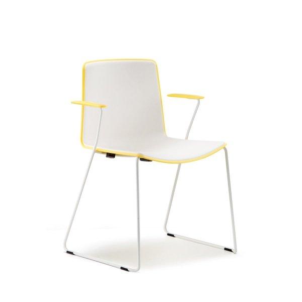 Tweet 898 Krzesło dwukolorowe Pedrali