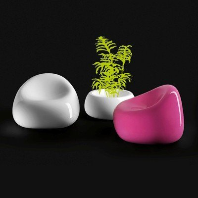 Gumball Armchair - Lacquered
