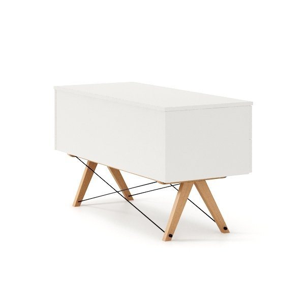 Designerska szafka TV Minko w stylu skandynawskim