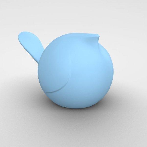 Designerski dodatek do każdego wnętrza błękitny ptaszek Biggie