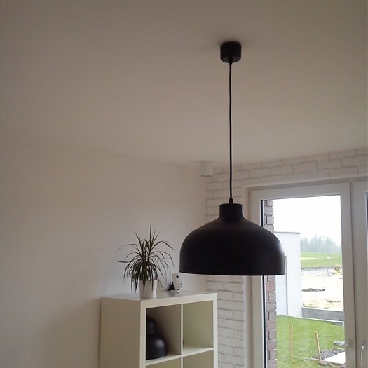 B&B lampa wisząca czarna matowa LoftYou -> Kuchnia Czarna Lampa