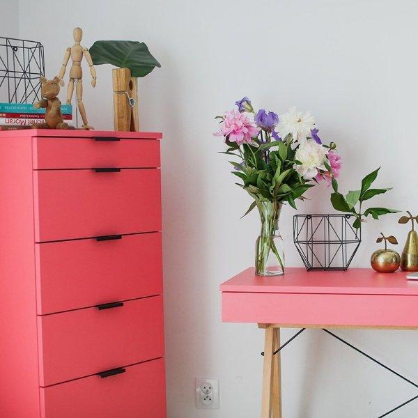 Piękne meble marki Minko w żywych, modnych kolorach
