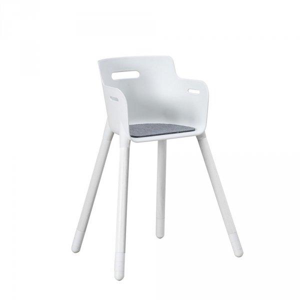 Filcowa podkładka do krzesła Junior, antypoślizgowy spód
