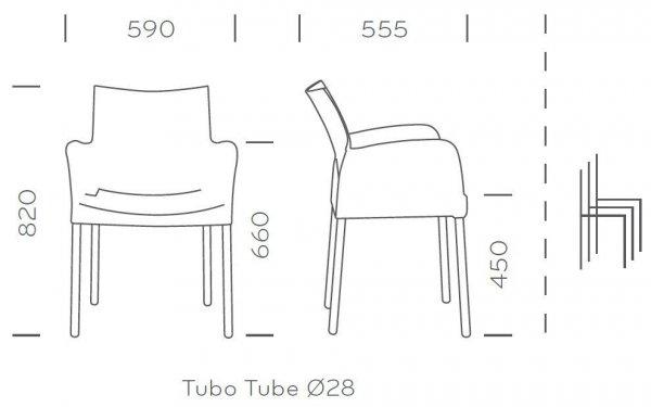Ice 850 Krzesło Pedrali