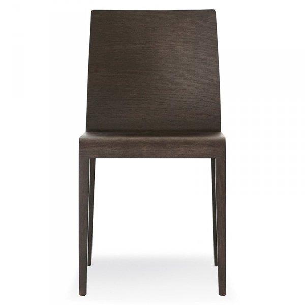 Nowoczesne krzesła z drewna dębowego Young 420 Pedrali