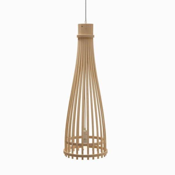 Podłużna lampa wisząca Reed 95cm