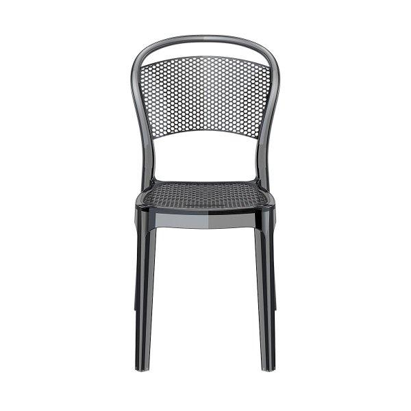 Krzesła można sztaplować, dzięki czemu nieużywane zajmują mało przestrzeni. Krzesła do do restauracji, hoteli, kawiarni, ogrodowe, na taras.