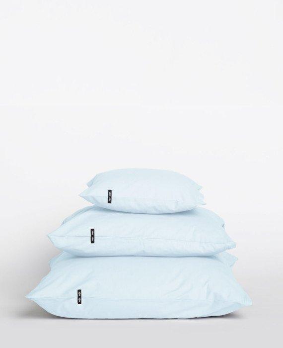 Poszwa bawełniana na poduszki PURE 2 szt. - pastelowy błękit