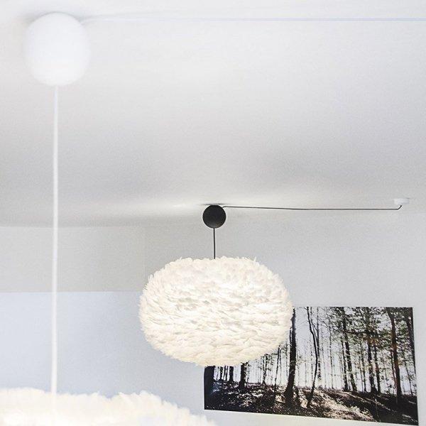Zawieszenie do lamp sufitowych zakończone ozdobną kulą Cannonball