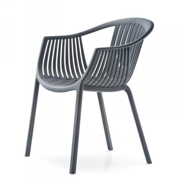 Wygodne i eleganckie krzesło do wnętrz i na zewnątrz Pedrali Tatami 306