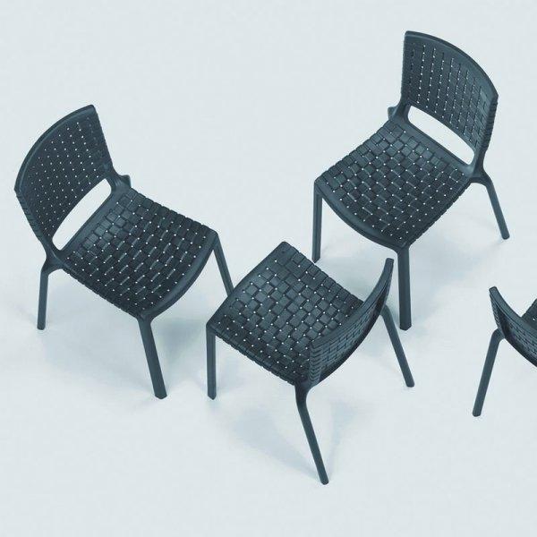 Lekkie i stylowe krzesła Tatami 305 Pedrali