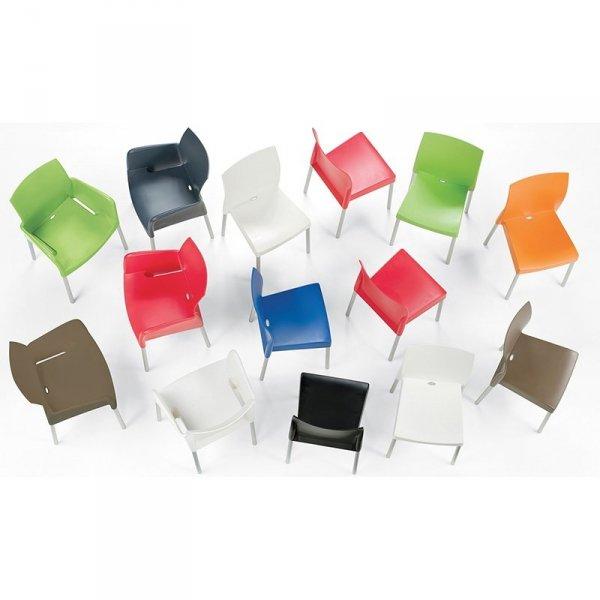 Ice 800 Krzesło Czerwone Pedrali