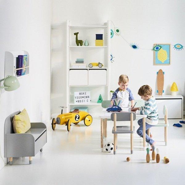 Stylowe meble dziecięce w stylu retro i pięknej kolorystyce Flexa Play