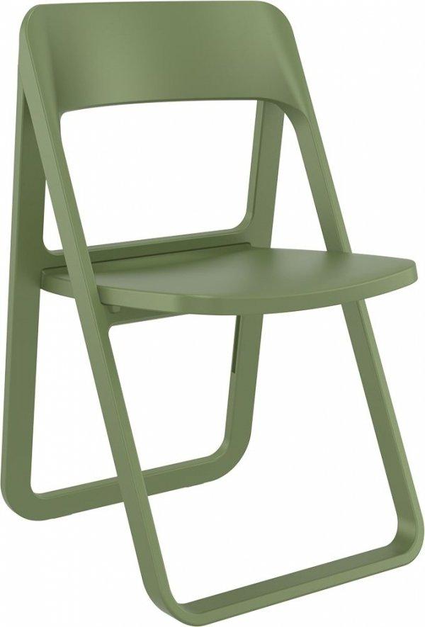 składane krzesło Dream Siesta oliwkowe