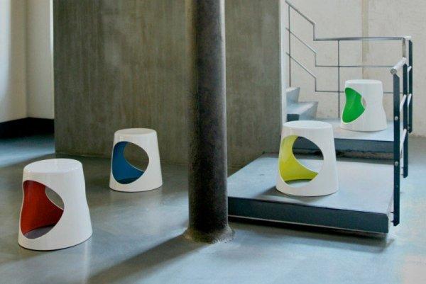 O2 Chair Stołek Biały XLBoom