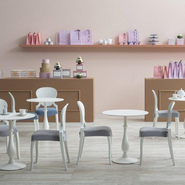 Stylowe krzesła do jadalni marki Pedrali Queen 650