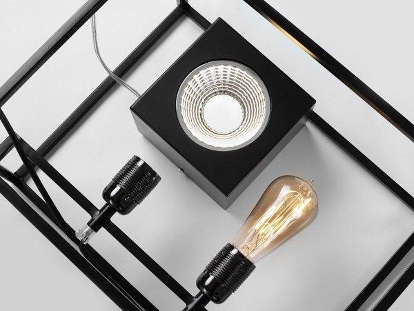 Oprawa sufitowa FLASS 1 –czarny LED