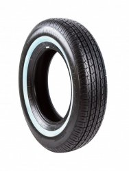 POWERTRAC P235/75R15 ROADTOUR 105S PO018W2 TL White Wall #E