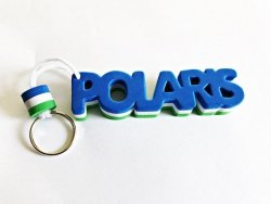 Breloczek, brelok do kluczy piankowy z napisem Polaris