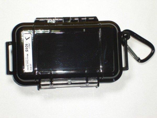 Peli model 1015 czarna/przeźroczysta
