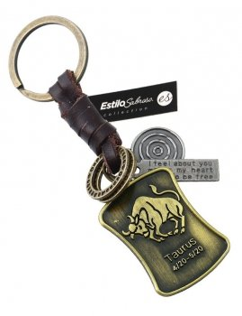 Men`s key ring TAURUS Estilo Sabroso Es04403