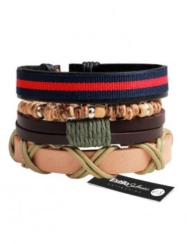 Men's bracelet 4in1 Estilo Sabroso ES04306