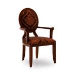Krzesła z podłokietnikami do salonu art-deco Anello