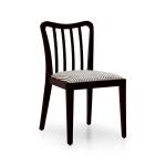 Nowoczesne krzesło z litego drewna Dernier