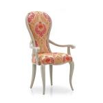 Krzesło do romantycznej sypialni Alina