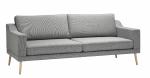 Sofa na wysokich nóżkach do poczekalni Tempo