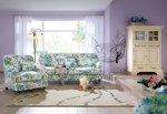 Zestaw w kwiaty, kanapa 220 cm i fotel Isabella Nowość