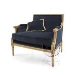 Fotel luksusowy stylizowany florencki Luigi