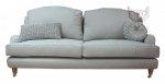 Szara kanapa w stylu francuskim Marlene 179 cm