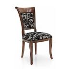Klasyczne krzesło do salonu Ricciolo