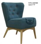 Fotel propozycja z oparciem do wyboru- Gaspare