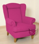 Fotel w wiosennych barwach Babciny fotel