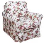 Fotel z niskim oparciem miękki i wygodny Marie