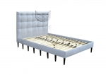 Łóżko z wysokim wezgłowiem- Pandoro 140x200 cm