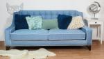 Stylowa nierozkładana sofa 3 osobowa Giunone 200 cm