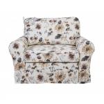 Mała sofa w kwiaty Flower 126 cm