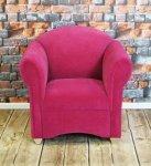 Fotel w stylu romantycznym fotel Maribel