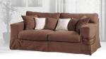 Sofa z funkcją spania i ściąganym pokrowcem SARA