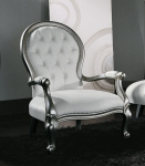 Fotel w stylu glamour DIVA