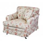 Stylowy fotel na kółkach Isabella