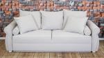 Sofa rozkładana w tkaninie plamoodpornej carabu Sofa English Rose