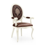 Krzesło z podłokietnikami w stylu eklektycznym Armonia